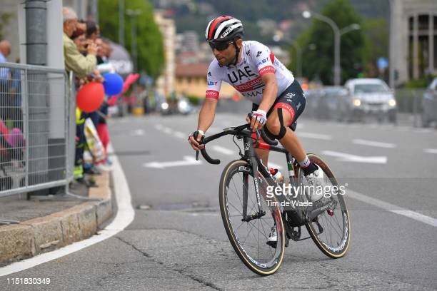 Diego Ulissi of Italy and UAE - Team Emirates / during the 102nd Giro d'Italia 2019, Stage 15 a 232km stage from Ivrea to Como / Tour of Italy /...