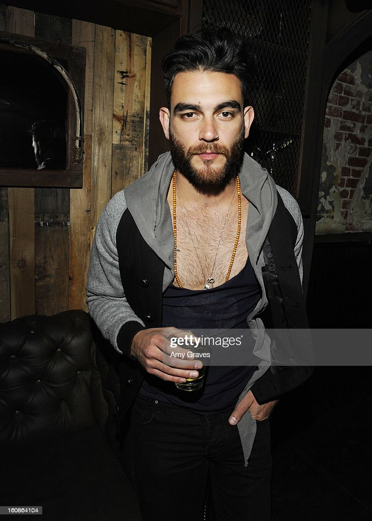 Diego Val attends the GRAMMY Label Launch Party at Harvard And Stone on February 6, 2013 in Hollywood, California.