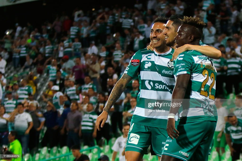 Santos v Red Bulls NY - CONCACAF Champions League 2019 : News Photo
