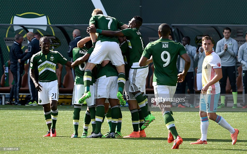 Columbus Crew SC v Portland Timbers : News Photo