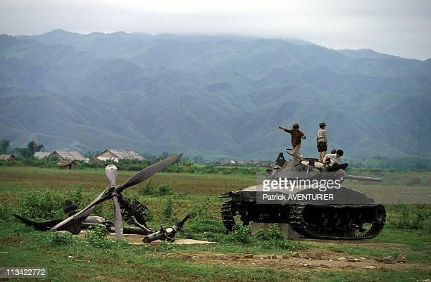 Dien Bien Phu 40 Years After The Battle On May 1st, 1994 In Vietnam