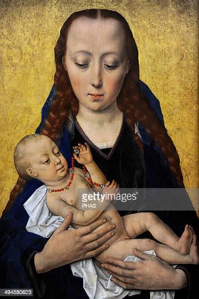 Dieric Bouts Netherlandish painter Virgin and Child c 1454 National Museum of Denmark Copenhagen Denmark