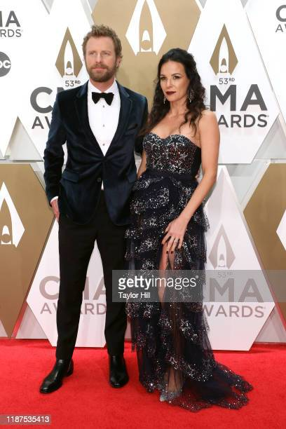 Dierks Bentley and Cassidy Black attend the 53nd annual CMA Awards at Bridgestone Arena on November 13 2019 in Nashville Tennessee