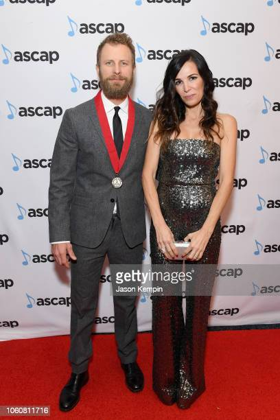 Dierks Bentley and Cassidy Black attend the 56th Annual ASCAP Country Music Awards on November 12 2018 in Nashville Tennessee