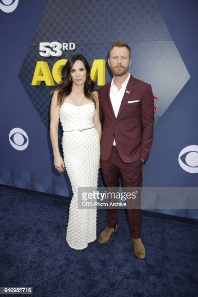 Dierks Bentley and guest the red carpet at the 53RD ACADEMY OF COUNTRY MUSIC AWARDS live from the MGM Grand Garden Arena in Las Vegas Sunday April 15...