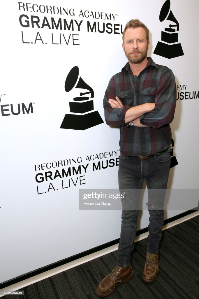 Dierks Bentley attends An Evening With Dierks Bentley at The GRAMMY Museum on April 19, 2018 in Los Angeles, California.