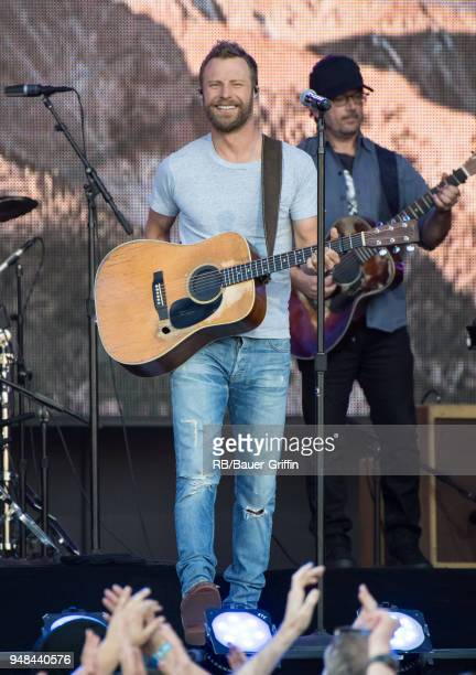 Dierks Bentley is seen at 'Jimmy Kimmel Live' on April 18 2018 in Los Angeles California