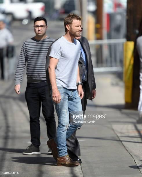 Dierks Bentley is seen on April 18 2018 in Los Angeles California