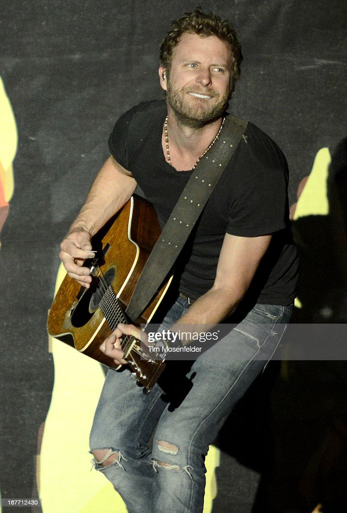 Dierks Bentley performs as part of the Stagecoach Music Festival at the Empire Polo Grounds on April 27, 2013 in Indio, California.