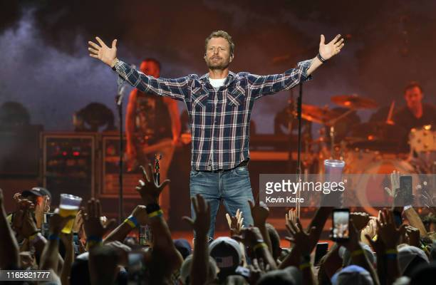 Dierks Bentley performs at Northwell Health at Jones Beach Theater on August 02 2019 in Wantagh New York