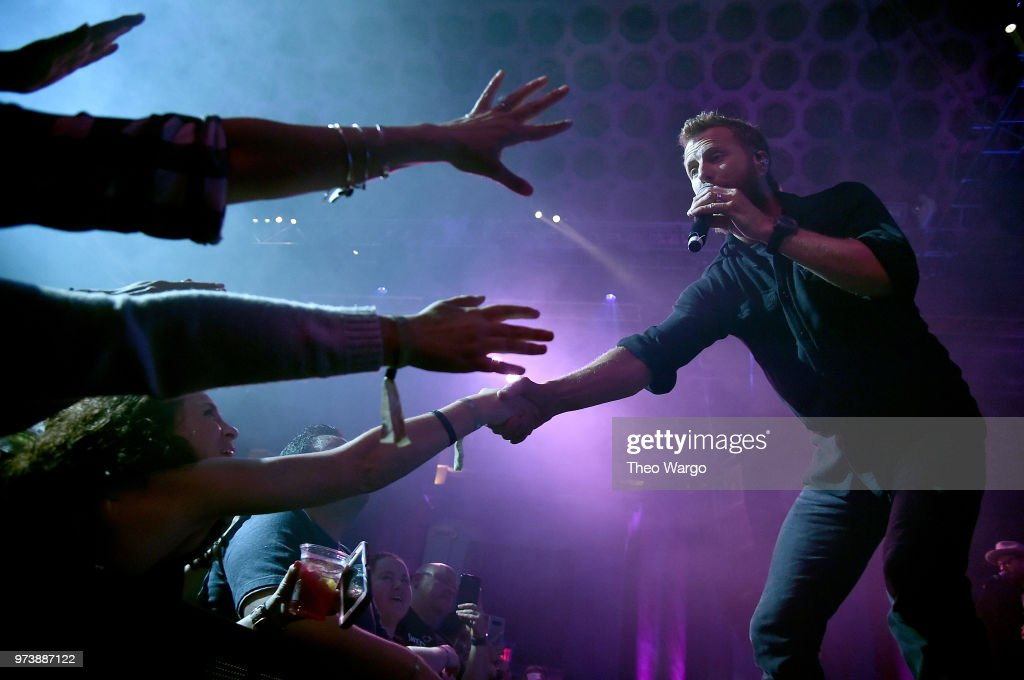 Dierks Bentley performs at Pandora Up Close With Dierks Bentley Sponsored By Southwest on June 13, 2018 in New York City.