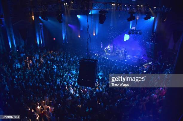 Dierks Bentley performs at Pandora Up Close With Dierks Bentley Sponsored By Southwest on June 13 2018 in New York City
