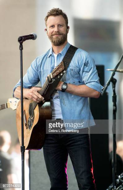 Dierks Bentley performs live on NBC's 'Today' at Rockefeller Plaza on June 12 2018 in New York City