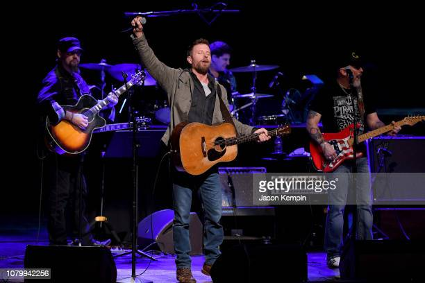 Dierks Bentley performs onstage during C'Ya on The Flipside benefit concert benefitting The Troy Gentry Foundation at The Grand Ole Opry on January 9...