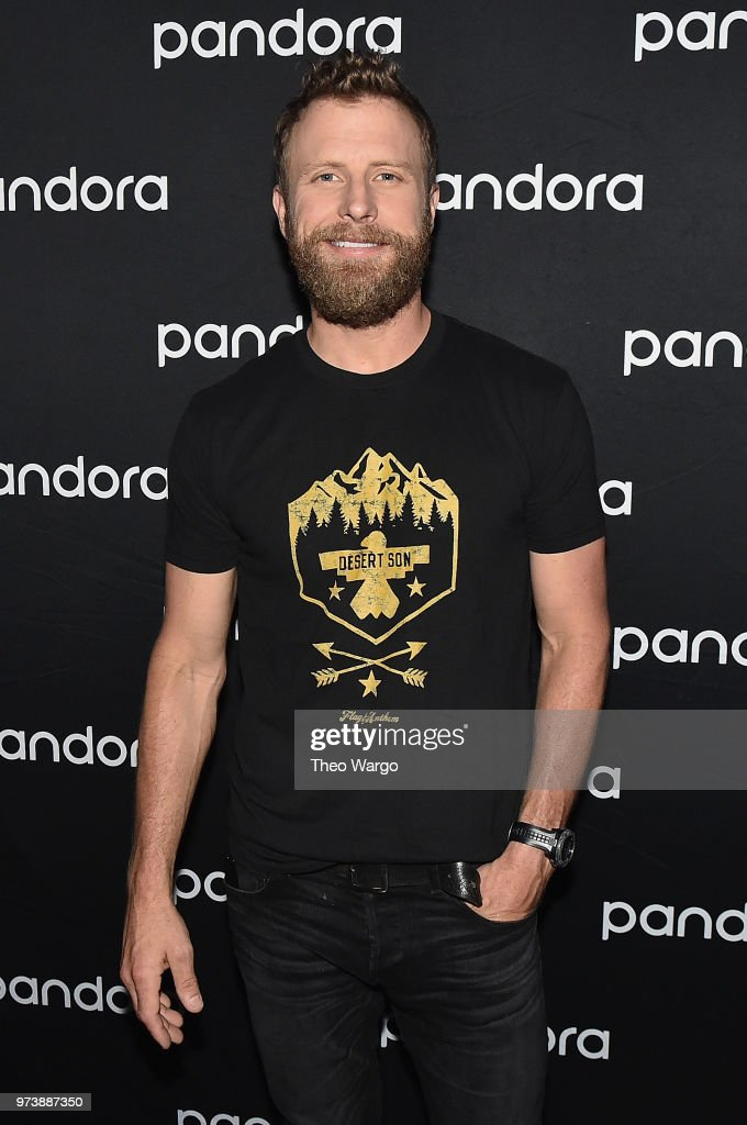 Dierks Bentley poses backstage at Pandora Up Close With Dierks Bentley Sponsored By Southwest on June 13, 2018 in New York City.