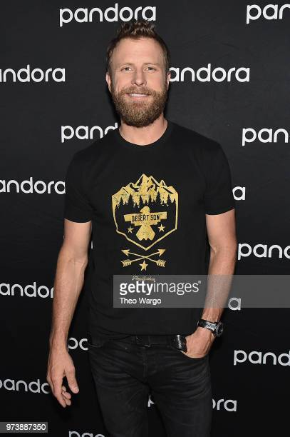 Dierks Bentley poses backstage at Pandora Up Close With Dierks Bentley Sponsored By Southwest on June 13 2018 in New York City