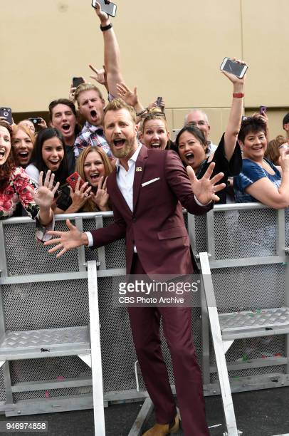 Dierks Bentley poses for a photograph on the red carpet at the 53RD ACADEMY OF COUNTRY MUSIC AWARDS live from the MGM Grand Garden Arena in Las Vegas...