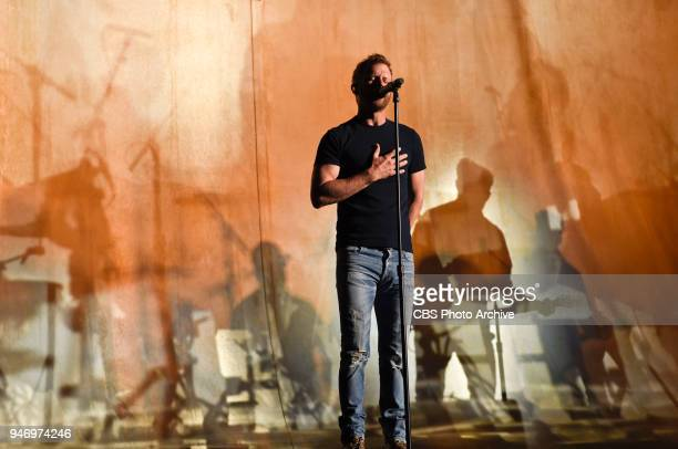 Dierks Bentley rehearses for the 53RD ACADEMY OF COUNTRY MUSIC AWARDS scheduled to air LIVE from the MGM Grand Garden Arena in Las Vegas Sunday April...