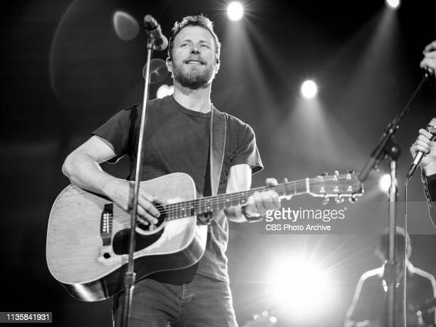 Dierks Bentley rehearses for the 54TH ACADEMY OF COUNTRY MUSIC AWARDS to broadcast LIVE from MGM Grand Garden Arena in Las Vegas Sunday April 7 2019...