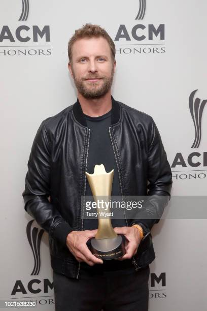 Dierks Bentley takes photos during the 12th Annual ACM Honors at Ryman Auditorium on August 22 2018 in Nashville Tennessee