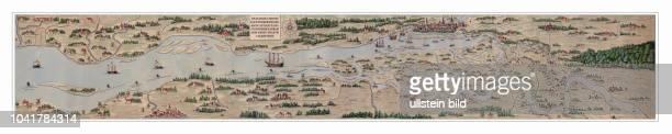Diese Karte wurde 1567 vom Hamburger Rat beim Maler und Kupferstecher Melchior Lorichs in Auftrag gegeben Sie sollte dazu dienen der Stadt wichtige...