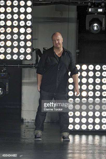 Diesel Black Gold Creative Director Andreas Melbostad during Mercedes-Benz Fashion Week Spring 2015 at Skylight at Moynihan Station on September 9,...