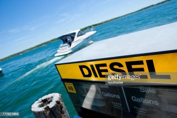 Diesel fuel Marina Boot