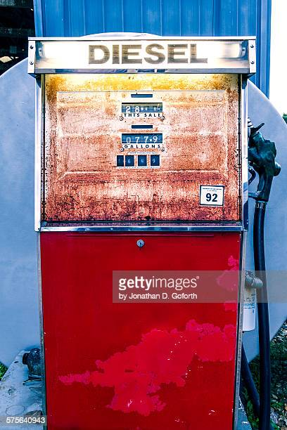 diesel fuel pump - eubank stock photos and pictures