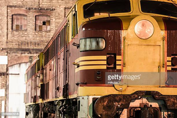 diesel locomotive - cowcatcher stock pictures, royalty-free photos & images