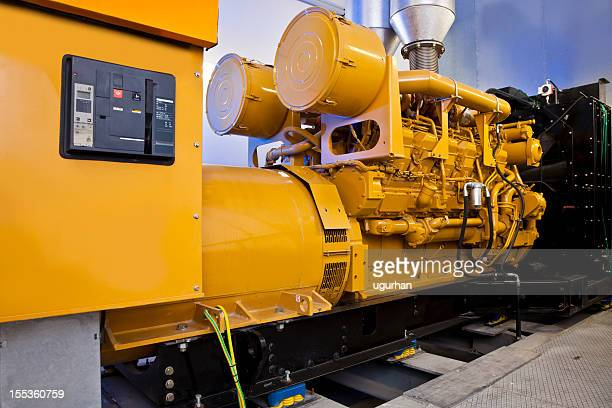 diesel power generators - generator stock pictures, royalty-free photos & images