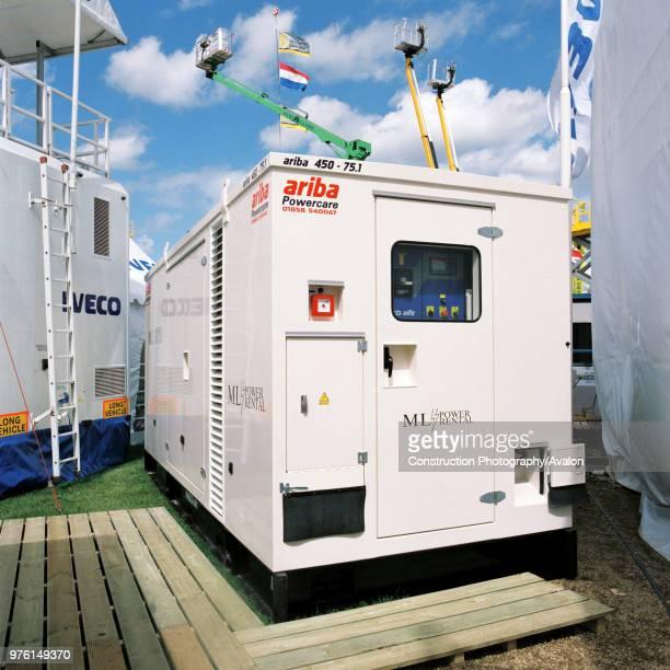 Diesel powered generator unit.