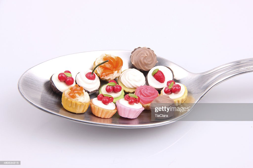 Dieta e dolci : Stock Photo