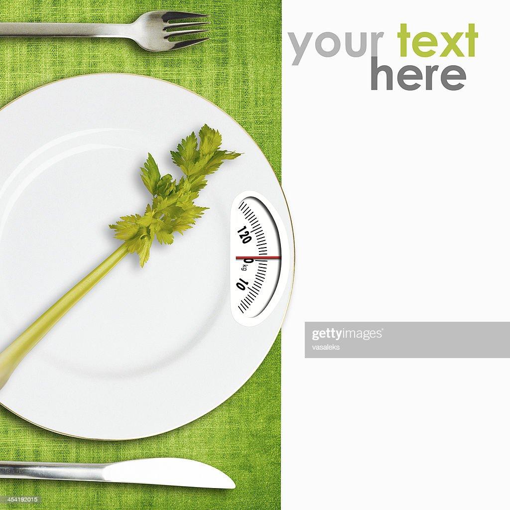 Concepto de dieta : Foto de stock