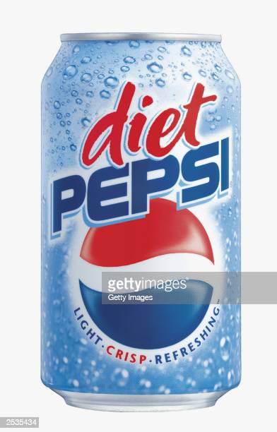 Diet Pepsi can sports its new design featuring an upright logo on a 'bubbly blue' background The new package design for cans and bottles will hit...