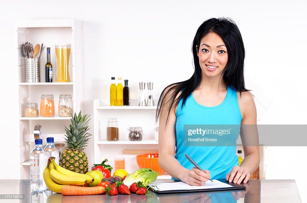 Diet Plan : Stock Photo