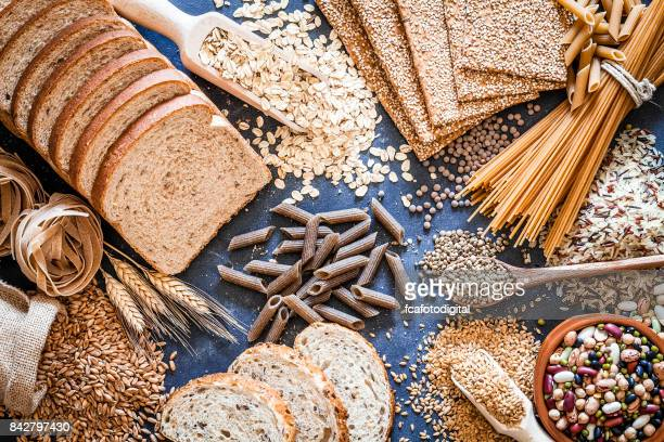 dietary fiber food still life - cereal plant stock pictures, royalty-free photos & images