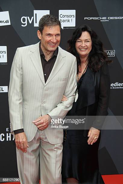 Dieter Bach and Gabriele Gabo OestreichTrivellini attend the Deutscher Schauspielerpreis 2016 at Zoo Palast on May 20 2016 in Berlin Germany
