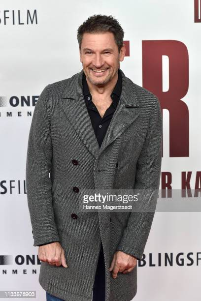 Dieter Bach attends the premiere of the film Trautmann at Mathaeser Filmpalast on March 4 2019 in Munich Germany