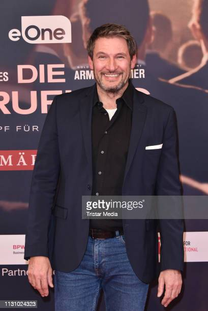 Dieter Bach during the photocall for the film Die Berufung on February 20 2019 in Berlin Germany
