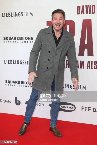 Dieter Bach during the premiere of the film Trautmann at Mathaeser Filmpalast on March 4 2019 in Munich Germany