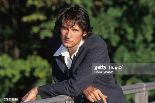Dieter Bach poses for portraits in August 1998 in Munich Germany