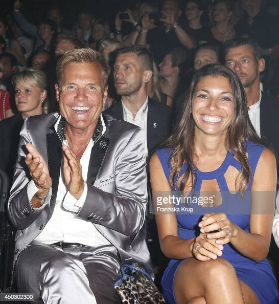 Dieter Bohlen and Carina Walz attend the 'Fashion World ...