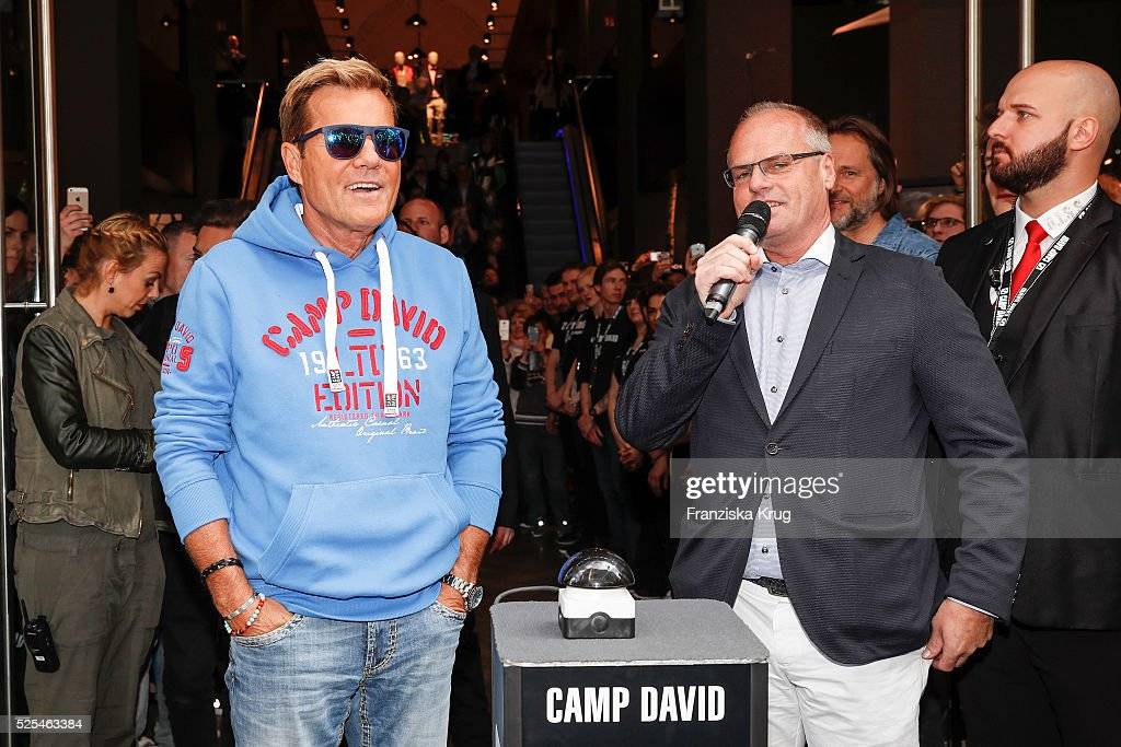 big sale acf6c f46fb Dieter Bohlen and Thomas Finkbeiner attend the CAMP DAVID ...