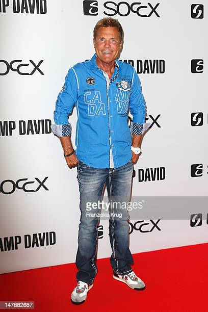 Dieter Bohlen attends Camp David show at Olympia stadium at MercedesBenz Fashion Week Spring/Summer 2013 on July 5 2012 in Berlin Germany