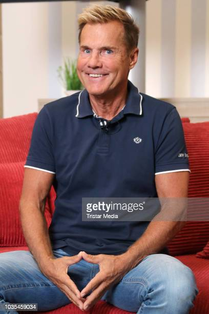 Dieter Bohlen attends the presentation of his new living world at Roller furniture store on September 18 2018 in Hamburg Germany