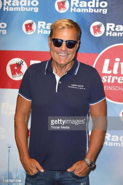 Dieter Bohlen during he visits Radio Hamburg on June 21 2019 in Hamburg Germany