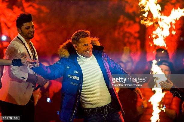Dieter Bohlen during the 'Deutschland sucht den Superstar' show from Balver Hoehle on April 29 2015 in Balve Germany