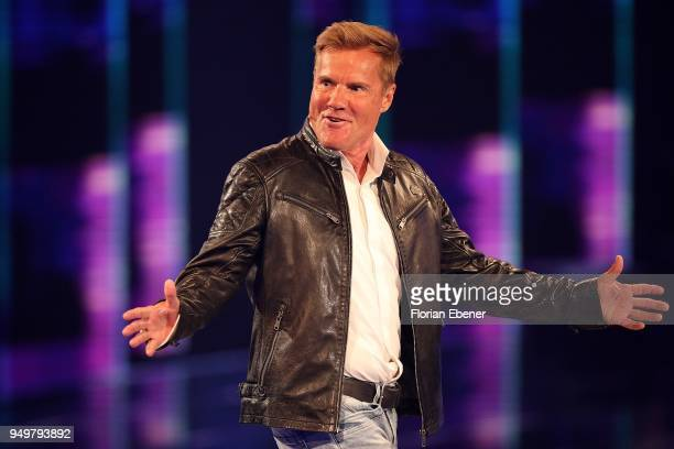 Dieter Bohlen during the second event show of the tv competition 'Deutschland sucht den Superstar' at Coloneum on April 21 2018 in Cologne Germany...