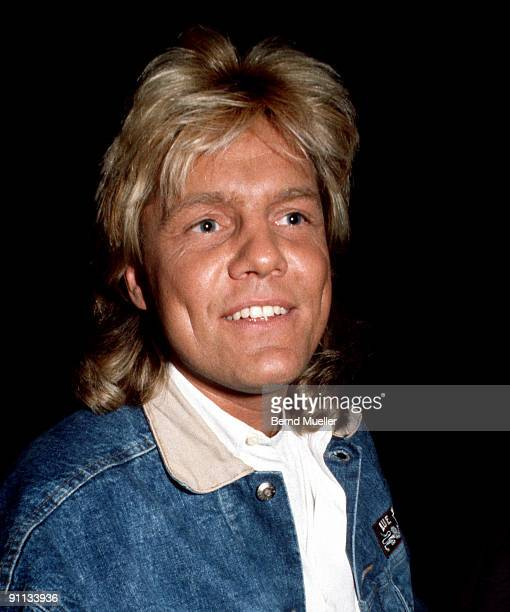Dieter Bohlen from Blue System appears in concert in Munich Germany on March 01 1988
