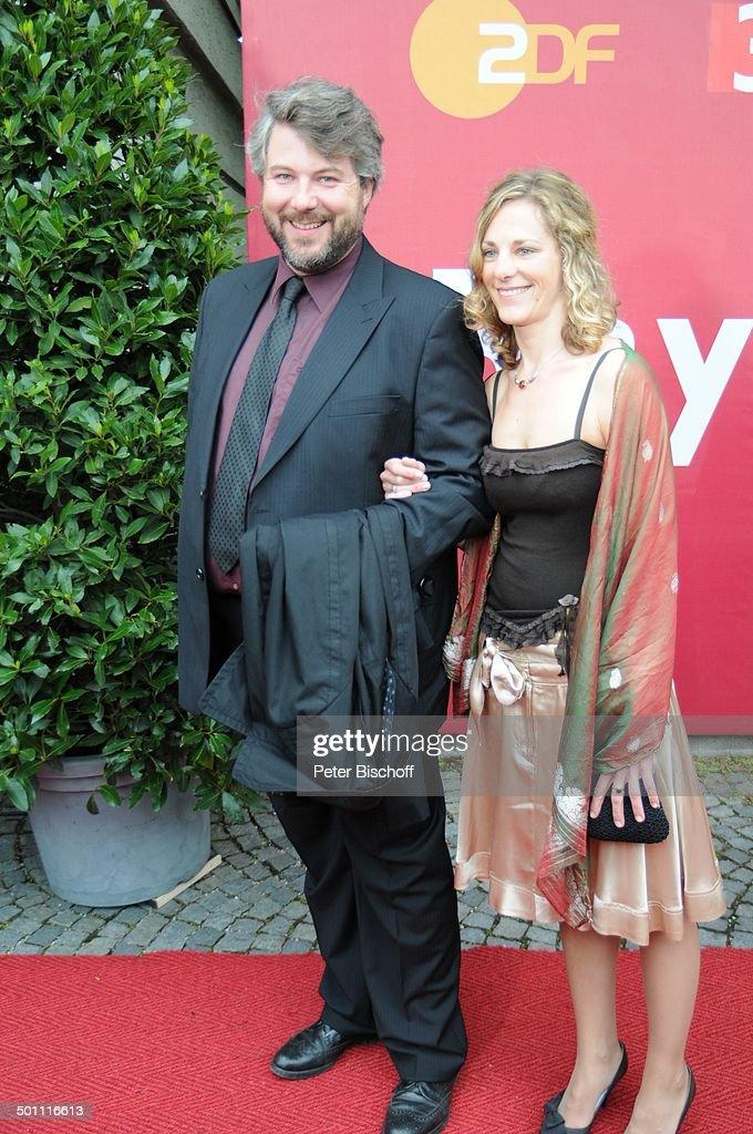 Dieter Fischer Ehefrau 21 Bayerischer Fernsehpreis 2009 Preis Photo D Actualite Getty Images